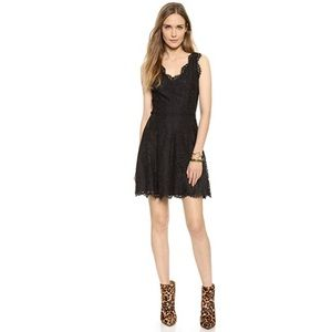 JOIE / NIKOLINA BLACK LACE DRESS SZ SMALL